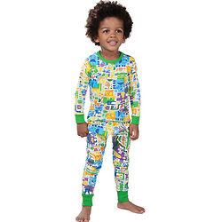 Zany Zoo Toddler Pajamas