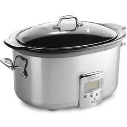 6.5 Quart Stainless Steel Electric Slow Cooker