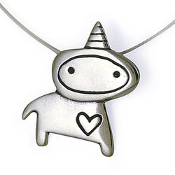 Unicorn Love Necklace