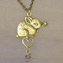Dainty Bunny Necklace