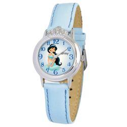 Personalized Disney Girl's Jasmine Crown Watch