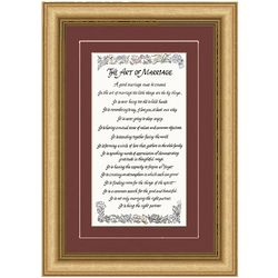 The Art of Marriage Framed Print
