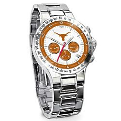 Men's Texas Longhorns Commemorative Chronograph Watch
