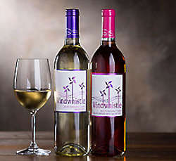 Windwhistle Moscato and Red Moscato Wine Duo Gift Box