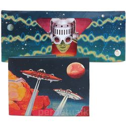 Classic Sci-Fi Sonic Musical Wallet