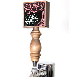 Black Dry Erase Draft Beer Tap Handle