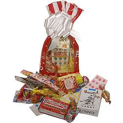 Sweet Holiday Memories Retro Candy Gift Bag