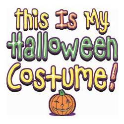 My Halloween Costume T-Shirt