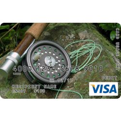 Fishing Visa Gift Card