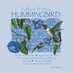 Advice From a Hummingbird T-Shirt
