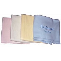 Personalized Dakotah® Luxe Receiving Blanket