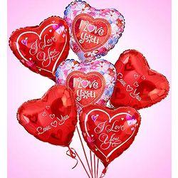 Love and Romance Air-Rangement Mylar Balloons