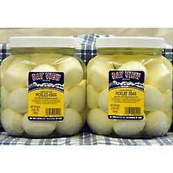 Two Jars of Pickled Eggs