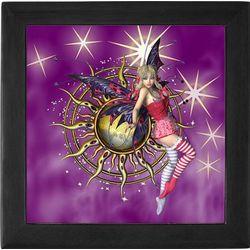 Purple Passion Fairy Fantasy Keepsake Box