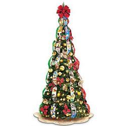Disney Pre-Lit Pull-Up Christmas Tree