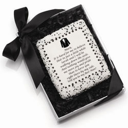 Personalized Will You Be My? Edible Tuxedo Cookie Card