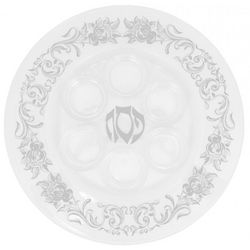 Argento Glass Passover Plate