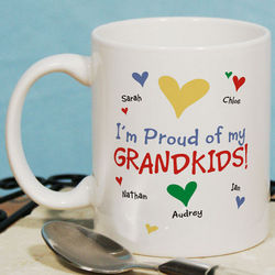 Proud of My Personalized Coffee Mug
