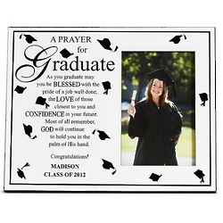 Personalized Graduate Prayer Photo Frame