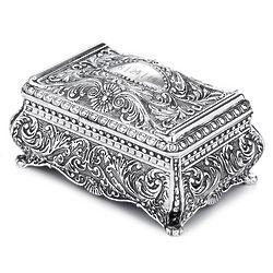 Ornate Rectangular Jewelry Box