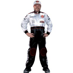 Adult Race Car Driver Suit Costume