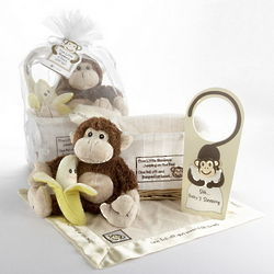 Five Little Monkeys Baby Gift Basket