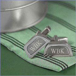 Personalized Two Toned Cufflinks