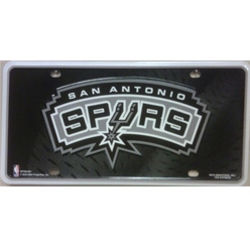 San Antonio Spurs License Plate