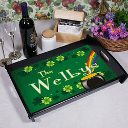 Personalized Irish Serving Tray