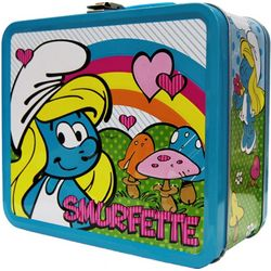 Smurfette Retro Lunch Box
