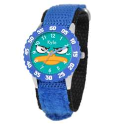 Personalized Kid's Disney Stainless Steel Phineas & Ferb Watch