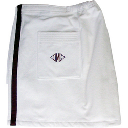 Monogrammed Men's Towel Wrap