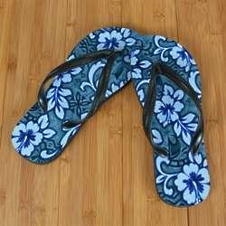 Blue Hawaii Poi Beacher Sandal