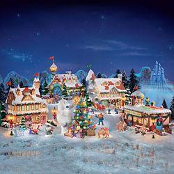 Rudolph the Red Nosed Reindeer Village Set