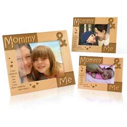 Mommy and Me Hearts Picture Frame