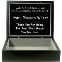 Teacher Personalized Keepsake Box