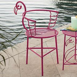 Flamingo Metal Patio Chair