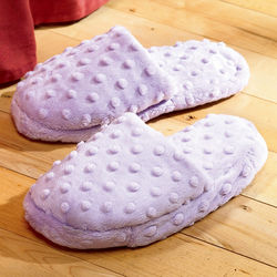 Microwaveable Aromatherapy Lavender Slippers