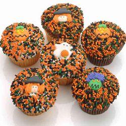 Halloween Cupcakes Gift Box