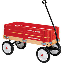Radio Flyer Red Town and Country Wagon