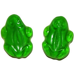 Five Pounds of Green Gummy Frogs