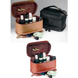 Napa Leather Cosmetics Travel Case