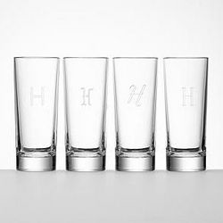 Bavarian Crystal Highball Glassware Set