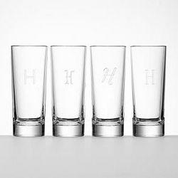 Bavarian Crystal Highball Glassware Set