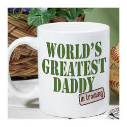 Personalized Worlds Greatest New Dad Coffee Mug
