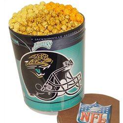 Jacksonville Jaguars 3 Way Popcorn Tin