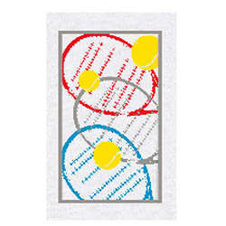 Tennis Rackets Towel