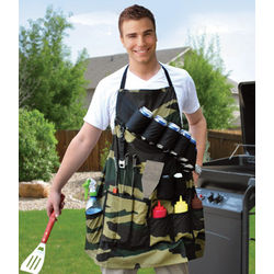 Grill Sergeant Be Prepared for Battle Barbecue Apron