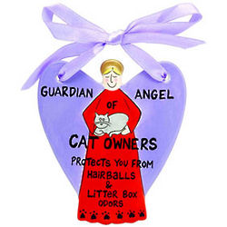 Guardian Angel of Cat Owners
