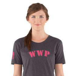 Women's WWP Pink Logo Shortsleeve T-Shirt
